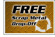 Free Scrap Metal Drop-Off